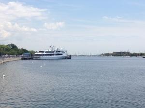Big boat . . .