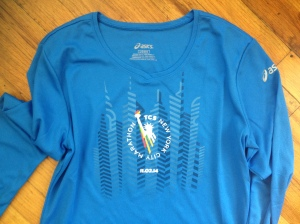 Official 2014 NYC Marathon shirt (size L)