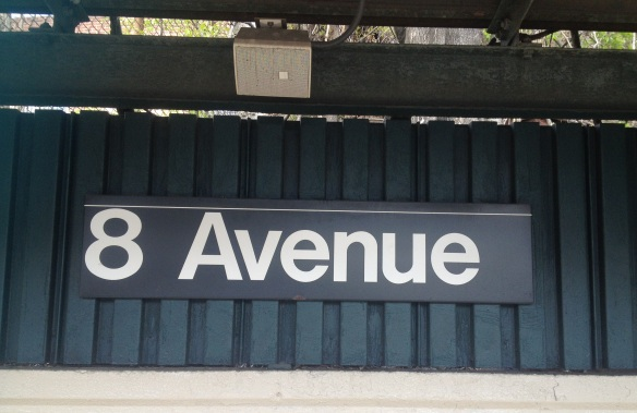 So long, 8th Avenue; you've been delicious.