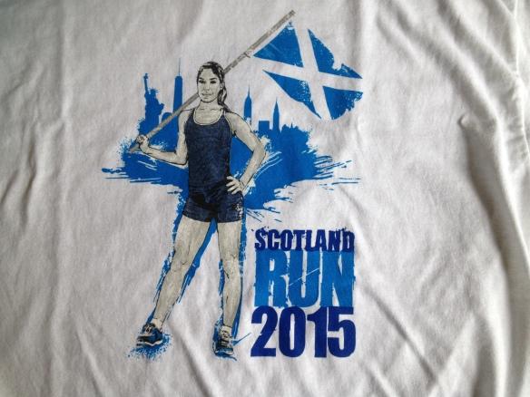 Scotland 10K shirt