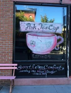 The venerable Pink Tea Cup in Fort Greene.